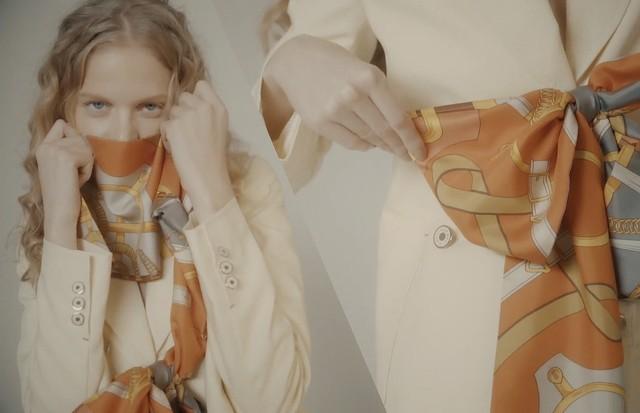 Os 5 melhores jeitos de usar lenços (Foto: Divulgação/ Vogue Brasil)