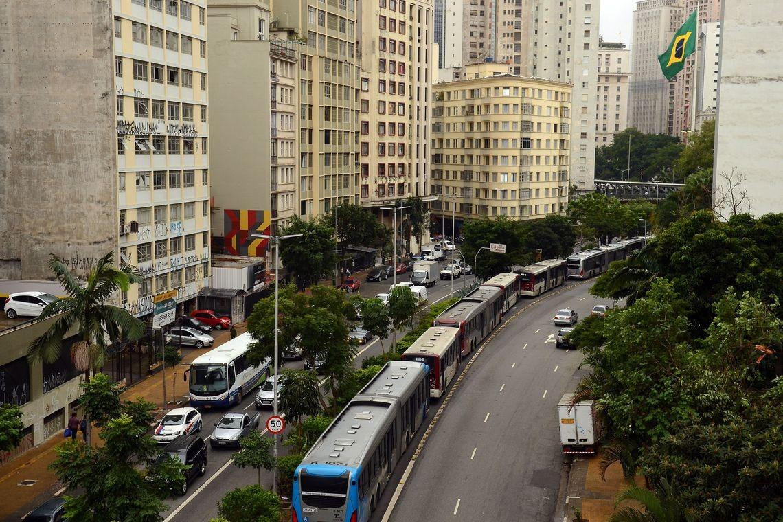 ônibus, são paulo, transportes (Foto: Rovena Rosa/Agência Brasil)