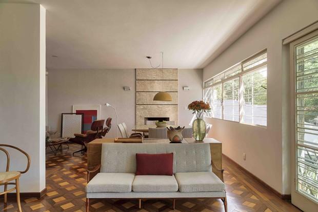 10 salas com aparador de sofá (Foto: Rafael Renzo)
