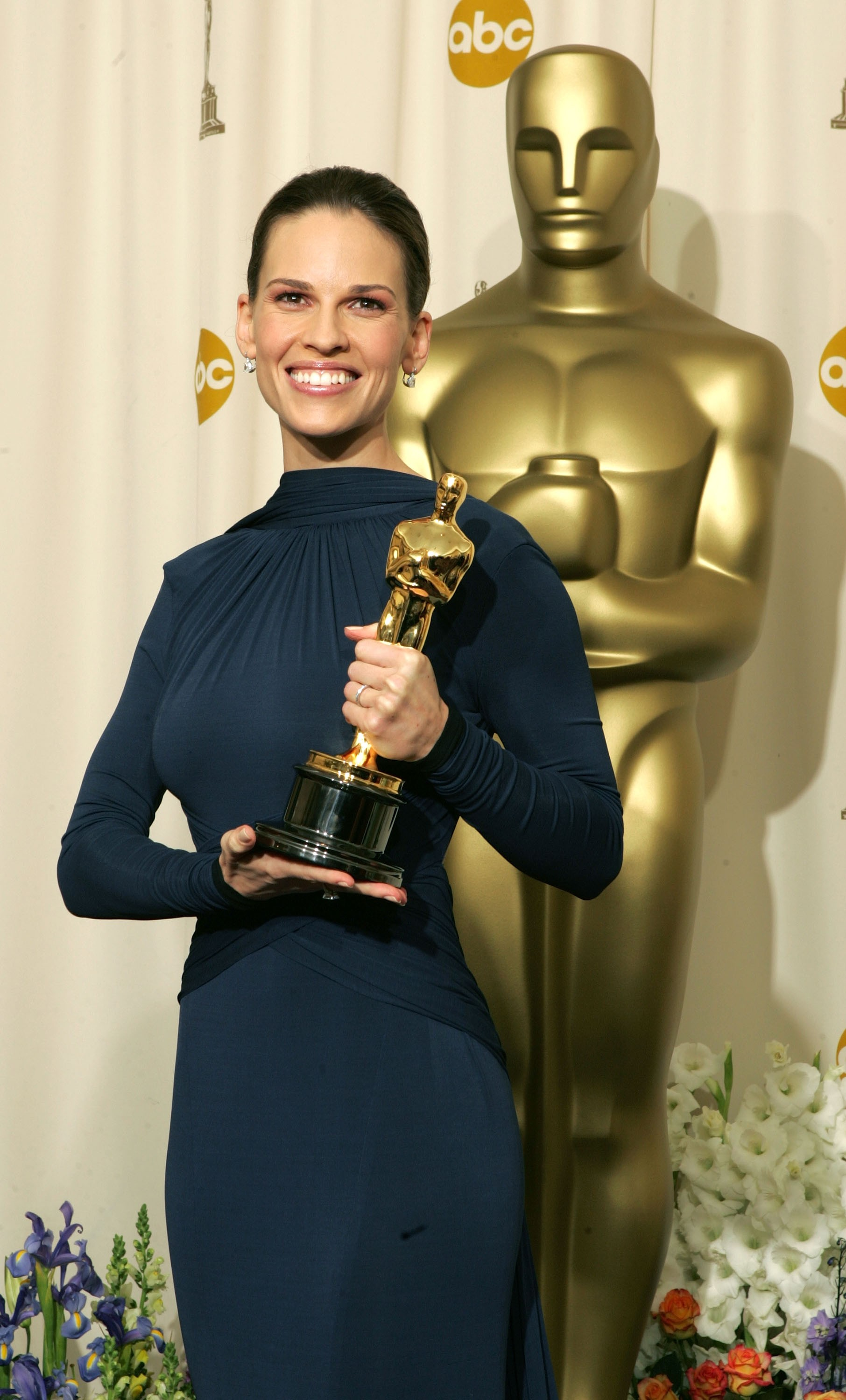Hilary Swank em 2005 (Foto: Getty Images)