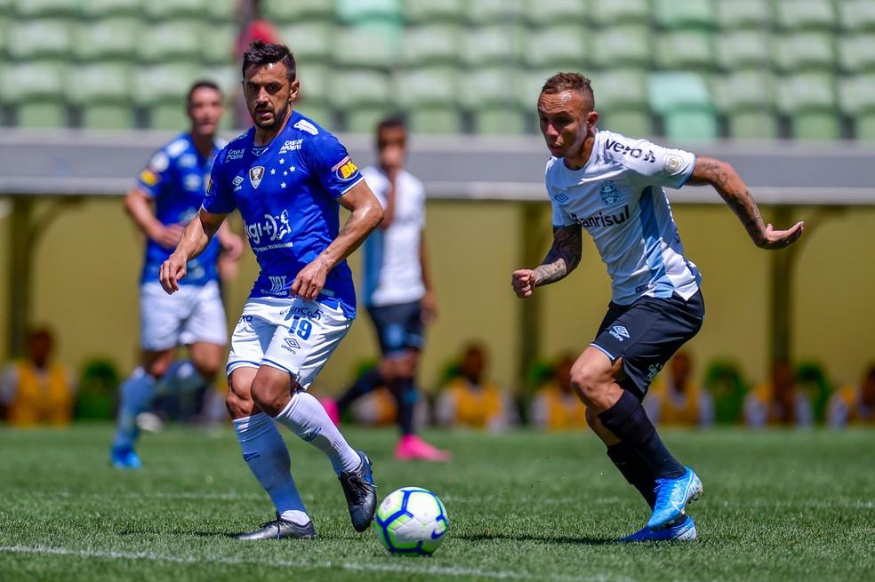 Renato utilizará força máxima contra o Cruzeiro — Foto: Douglas Magno/BP Filmes