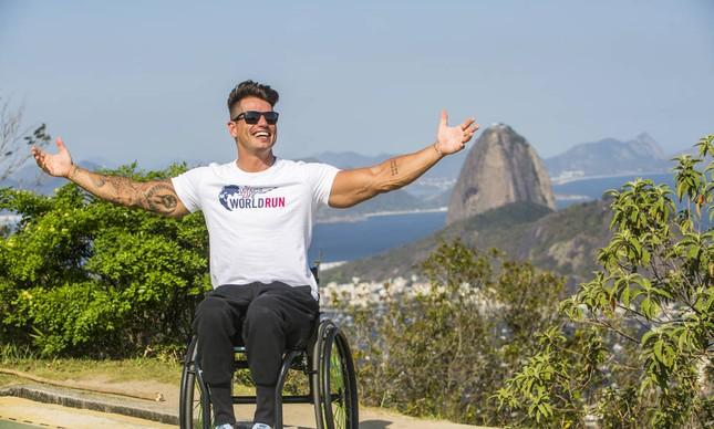Fernando Fernandes, embaixador do Wings for Life World Run Brasil