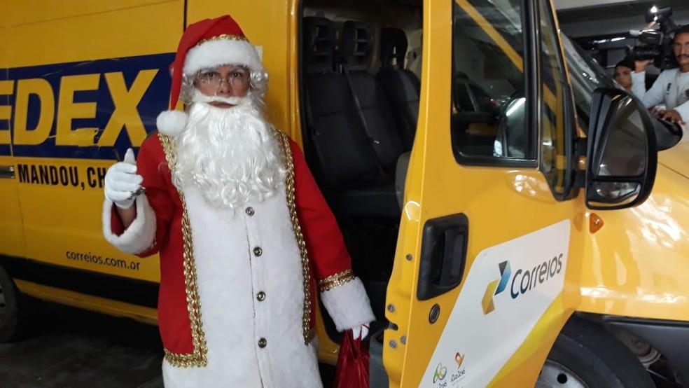Papai Noel dos Correios completa 30 anos — Foto: Ricardo Novelino/G1