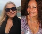 Mônica Rossi e Jacira Santos | Arquivo pessoal