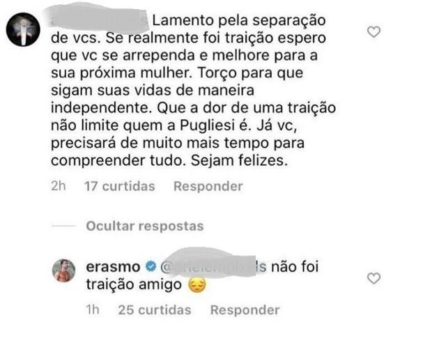 Erasmo Viana comenta fim de casamento com Gabriela Pugliesi (Foto: Reprodução/Instagram)