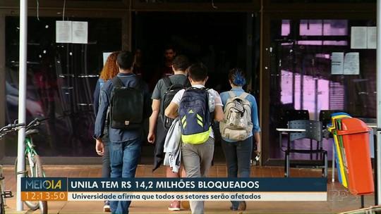 Bloqueio de R$ 14,2 milhões das contas da Unila vai atingir projetos de extensão e contratos de manutenção