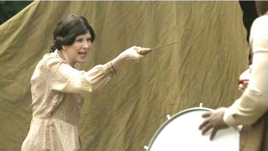 Dani Calabresa é Maria Bonita em novo esquete do 'Zorra'. Confira!