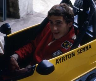 Ayrton Senna em 1982 | Editora Globo