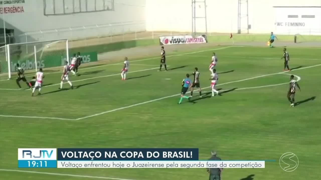 Voltaço perde para o Juazeirense pela Copa do Brasil