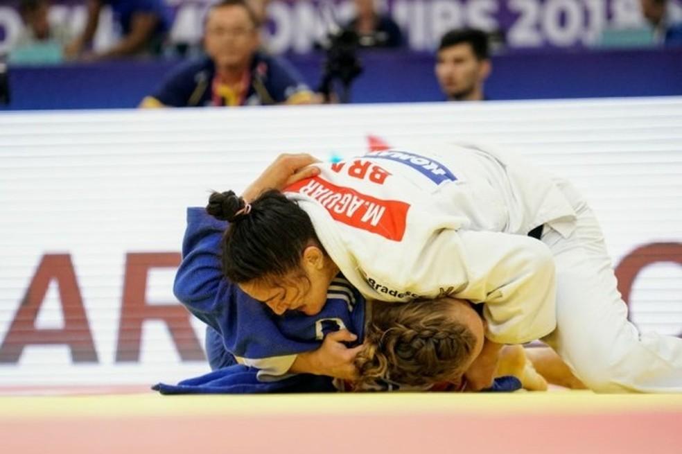 Mundial de judô acontece em agosto — Foto: Rodolfo Vilela/ rededoesporte.gov.br