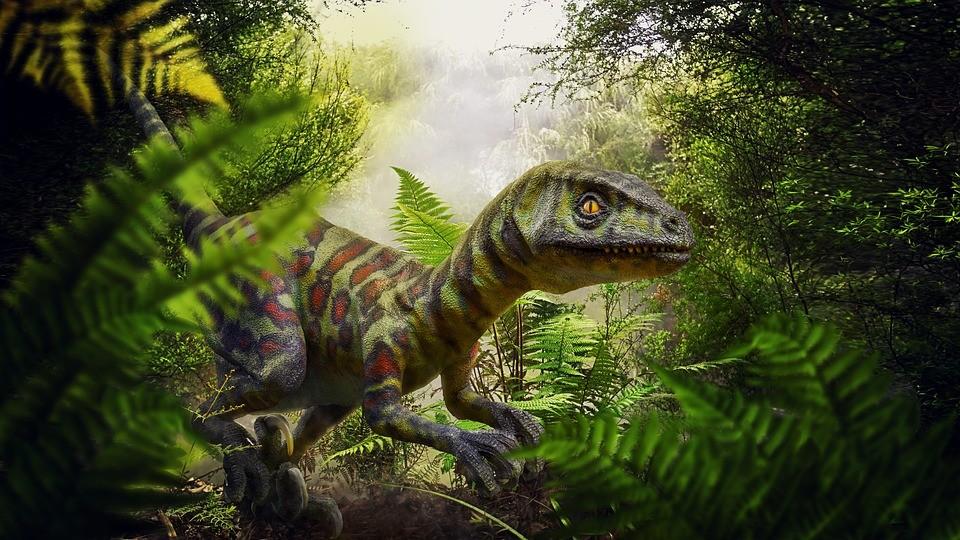 Dinossauro na selva (Foto: Max Pixel/Creative Commons)