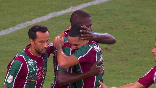 Frazan marca seu primeiro gol como profissional do Flu; veja