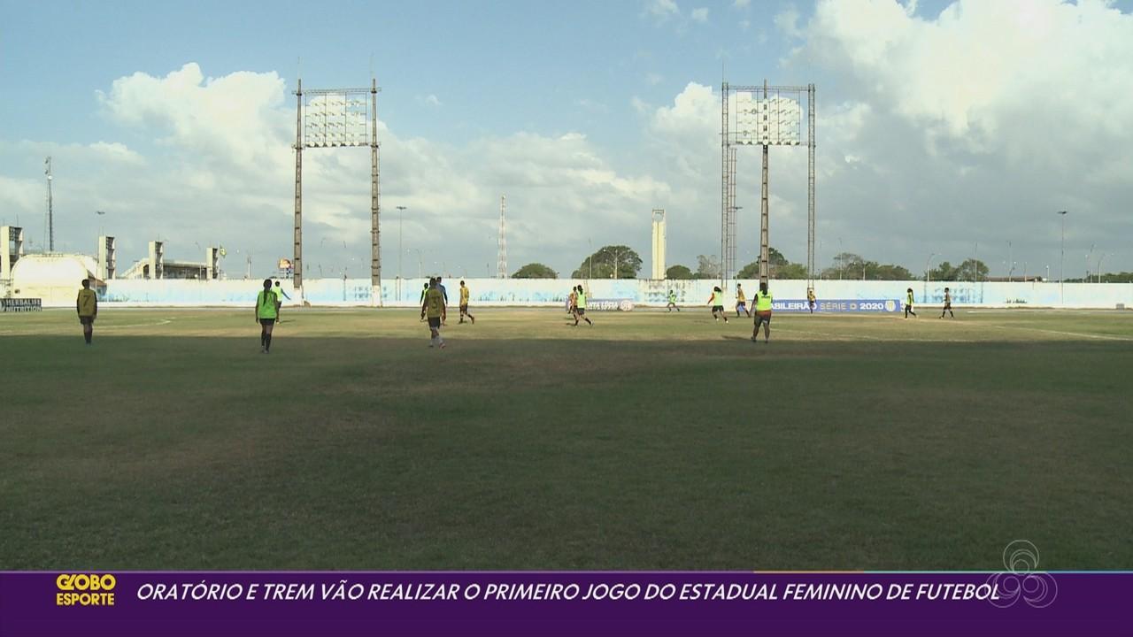 Oratório x Trem abrem o Campeonato Amapaense Feminino de Futebol