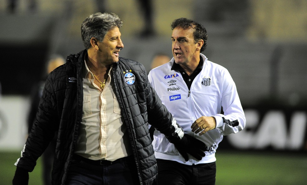 Renato vê Grêmio vivo no Brasileirão (Foto: Marcos Ribolli/GloboEsporte.com)