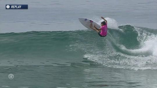 Silvana domina australiana e é campeã em Trestles, dando fim a jejum de 7 anos