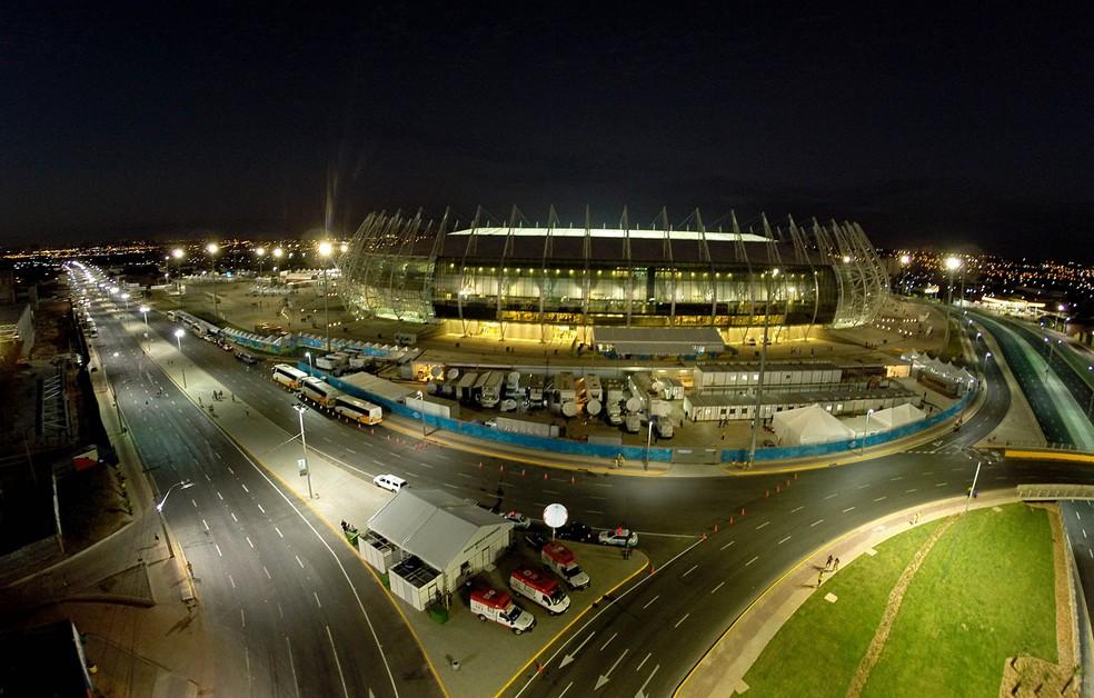 -  Arena Castelão  Foto: Welington Macedo/Agência Diário