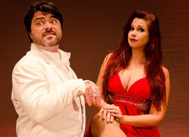 Carlo Simões e Drika Mattos (Foto: Foto:  Divulgação)