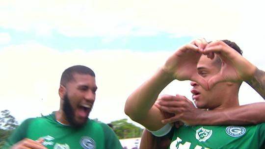 Os gols de Santa Cruz 0 x 2 Goiás pela Copa São Paulo de Futebol Júnior