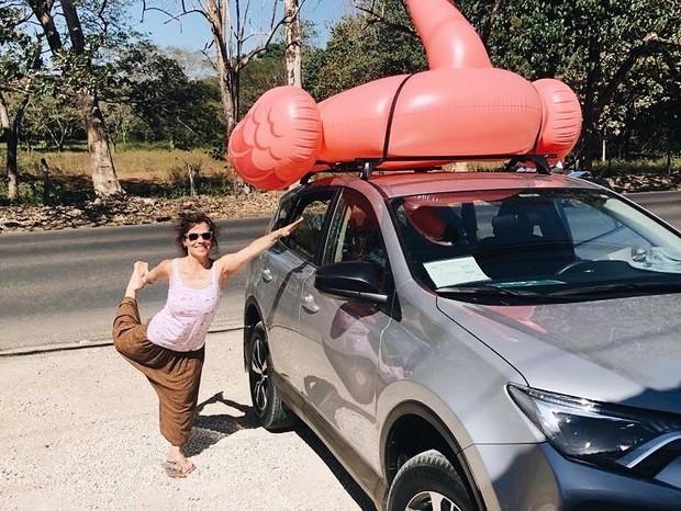Ana Maria Braga curte férias (Foto: Reprodução / Instagram)