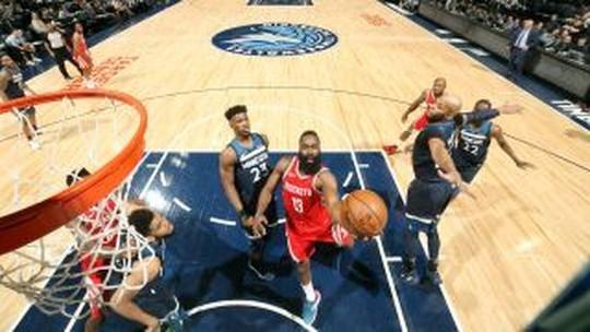 Melhores momentos: Houston Rockets 119 x 100 Minnesota Timberwolves pela NBA