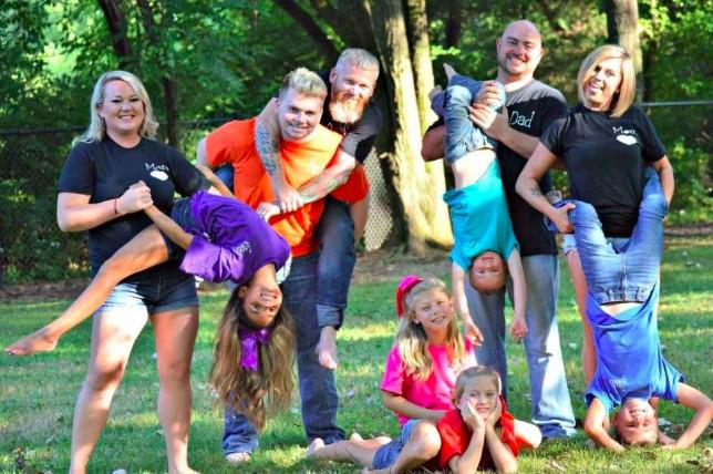 Foto de família (Foto: Reprodução)