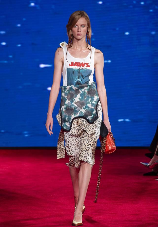 Calvin Klein - verão 2019 (Foto: Imaxtree)