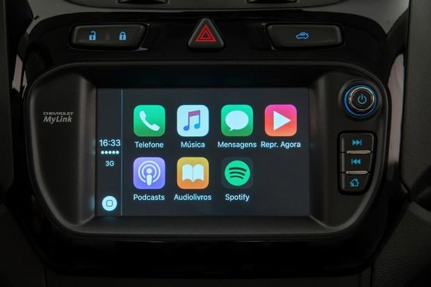 MyLink sistema Apple CarPlay (Foto: Divulgação)