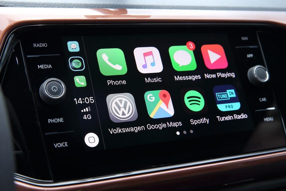 Sistema de Infotainment com tela sensível ao toque de 8 polegadas  (Foto: Marcelo Machado)