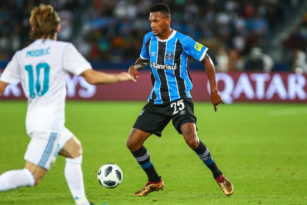 Jailson encerrou temporada em alta (Foto: Lucas Uebel/Divulgação Grêmio)