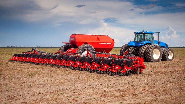 máquina agrícola (Foto: Divulgação/Horsch)