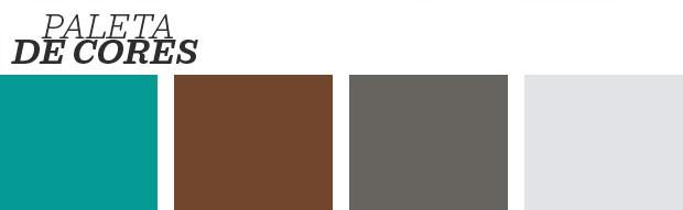 Décor do dia: sala de estar com piso colorido (Foto: Reprodução)