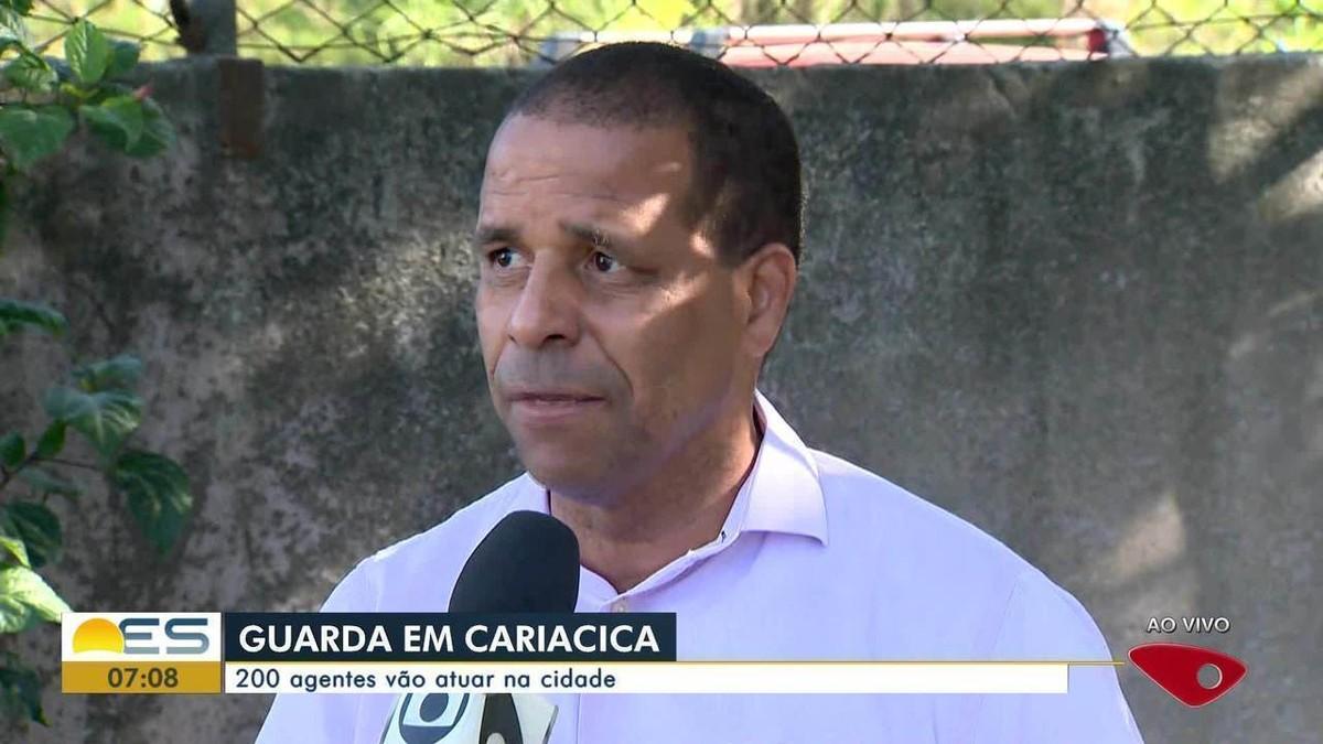 Criação da Guarda Municipal de Cariacica, ES, é sancionada - G1