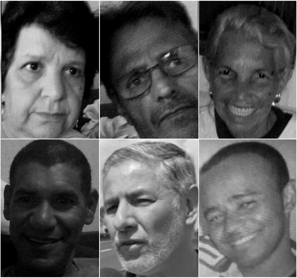 Veja quem são as vítimas da chuva no interior de São Paulo — Foto: Reprodução