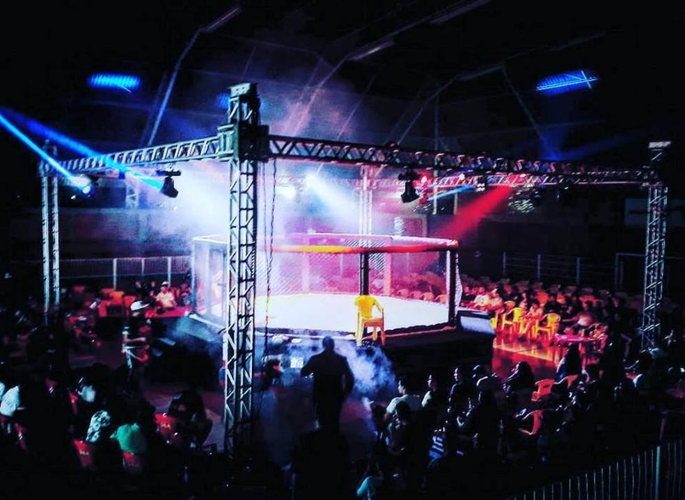 Disputa acontece em um clube de Montes Claros — Foto: Rafael Luca/Arquivo pessoal
