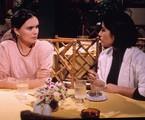 Regina Duarte e Gloria Pires em 'Vale tudo' | TV Globo