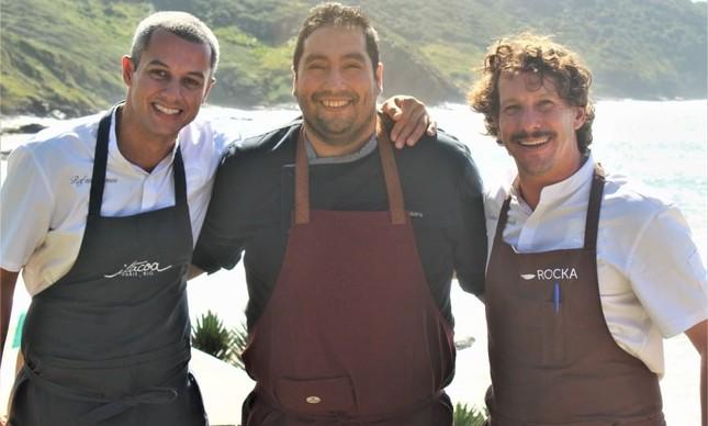 Chefs do Itacoa-Rocka-L'eitole.