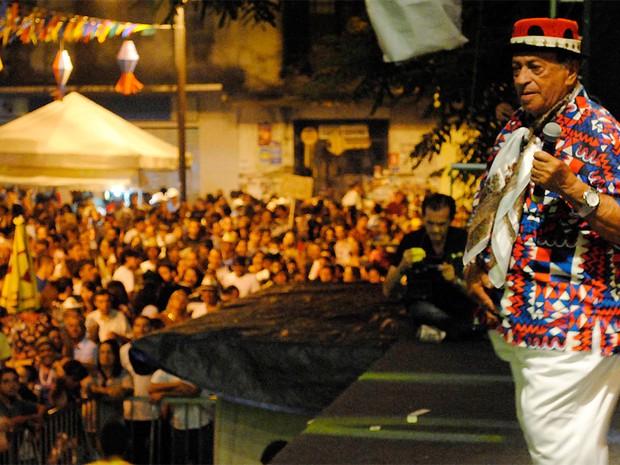 """Genival Lacerda animou o público com músicas como """"Quem Dera"""", """"Severina Xique-xique"""", """"Rádio de pilha"""", """"Mate o veio"""" e """"De quem é esse jegue"""" (Foto: Andrea Gisele/Secom-JP)"""