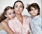 Gabriela Duarte com os filhos | Reprodução
