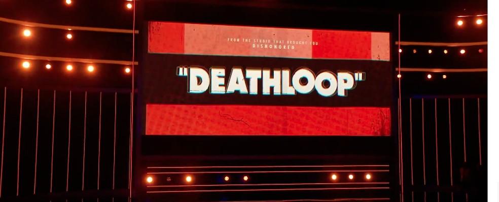 Deathloop foi apresentado pelo Arkane Studios — Foto: Reprodução/Bethesda