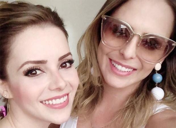Sandy e Aline Lima, filha de Chitãozinho (Foto: Reprodução/Instagram)