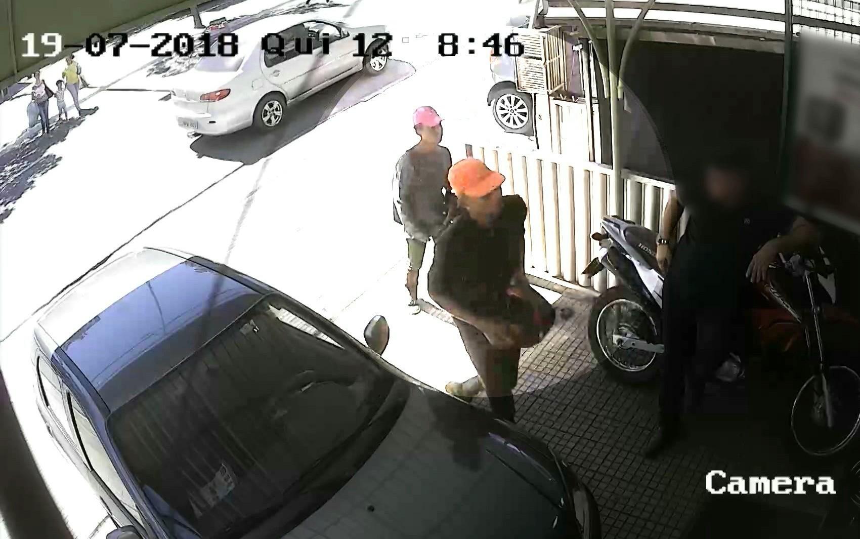 Vídeo flagra roubo em loja no Centro de Campina Grande nesta sexta-feira (20)