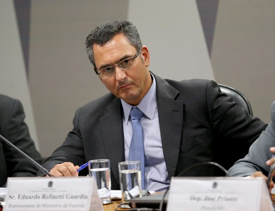 O secretário executivo do Ministério da Fazenda, Eduardo Guardia (Foto: Wilson Dias/Agência Brasil)