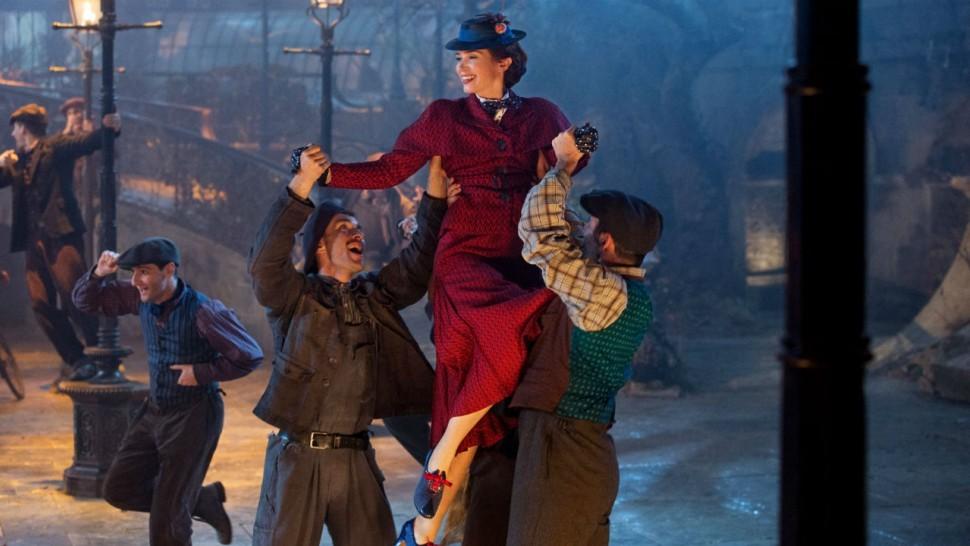 Emily Blunt como Mary Poppins (Foto: Divulgação)