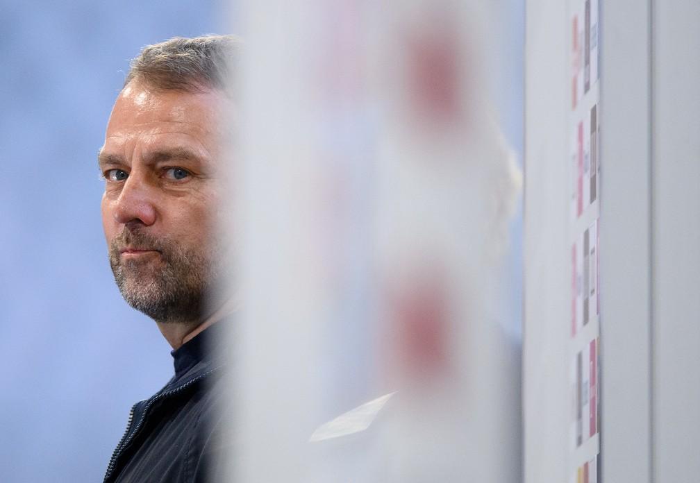 Hans-Dieter Flick é cobiçado pela federação alemã para assumir a seleção principal — Foto: Getty Images