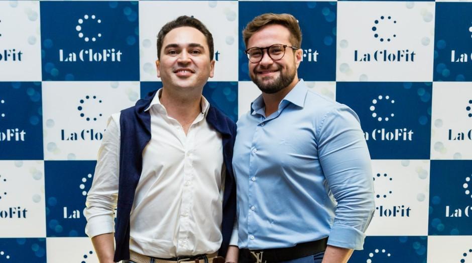 Felipe Vieira (esquerda), fashion designer da La Clofit e Cristiano Junqueira, CEO da marca (Foto: Divulgação)