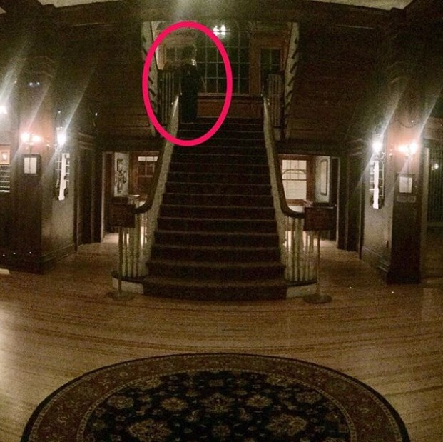 Outro fantasma no Stanley Hotel?