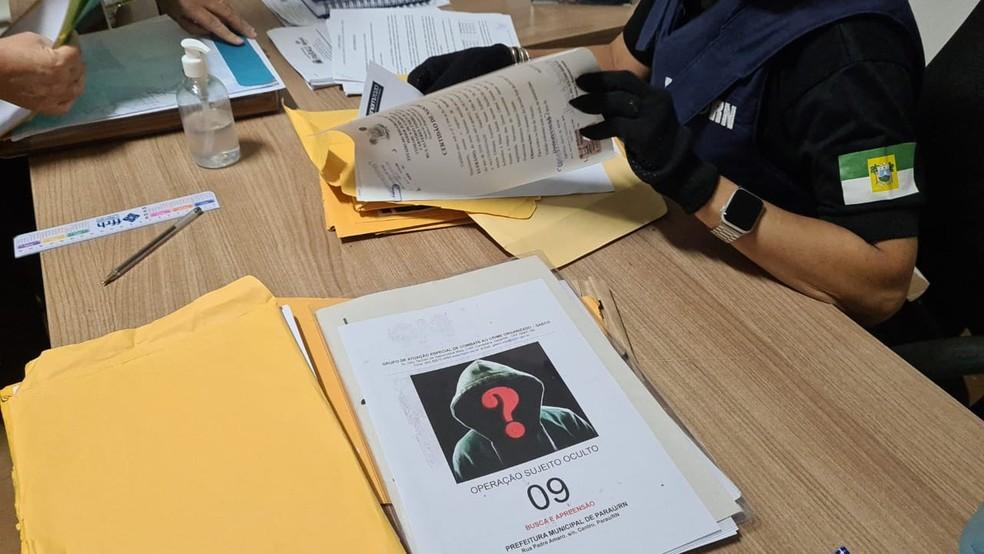 Operação Sujeito Oculto foi deflagrada nesta quarta-feira (5) pelo Ministério Público do RN — Foto: Divulgação