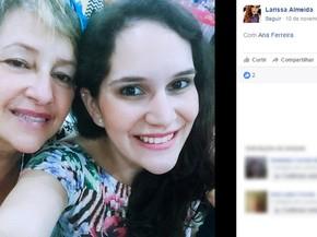 Ana e Larissa são mãe e filha e também foram assassinadas na chacina de Campinas (Foto: Reprodução / Facebook)