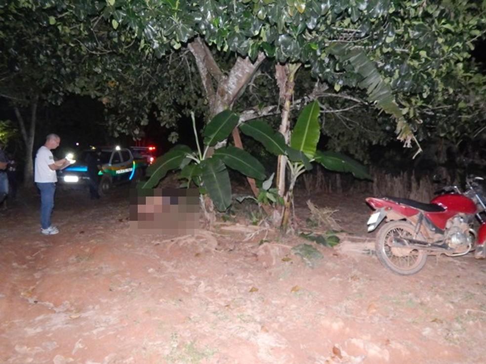-  Homem mata irmão com tiro de espingarda, em Nova Brasilândia do Oeste, RO  Foto: Rondônia News/Divulgação