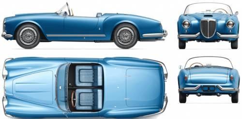 Lancia Aurelia B24 spider America 1956